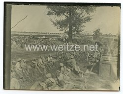 1. Weltkrieg Deutsches Heer Foto, Russische Kriegsgefangene