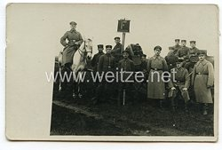 1. Weltkrieg Deutsches Heer Foto, Fernmeldesprecher-Truppe