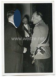 3. Reich Pressefoto: Festaufführung der Staatsoper für den Führer Adolf Hitler und seine Gäste 2.6.1939
