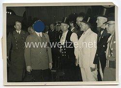 3. Reich Pressefoto: Die Festliche Übergabe der Reichskanzlei-Neubau an den Führer Adolf Hitler 9.1.1939