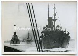 Kriegsmarine Pressefoto: bei den Minensuchern 29.8.1940
