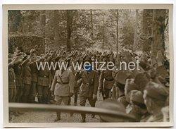 3. Reich Pressefoto: Besuch im Hauptquartier des Oberbefehlshabers des Heeres 2.9.1941
