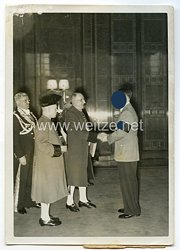 3. Reich Pressefoto: Neujahrsempfang beim Führer in der neuen Reichskanzlei 12.1.1939