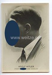 """III. Reich - Propaganda-Postkarte - """" Adolf Hitler unser Führer und Kanzler """""""