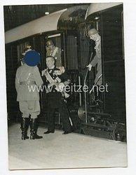 3. Reich Pressefoto: Admiral Horthy und Adolf Hitler in der Reichshauptstadt