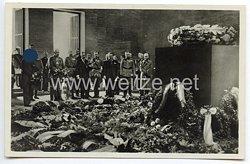 """III. Reich - Propaganda-Postkarte - """" Adolf Hitler - Berlin Ehrenmal """""""