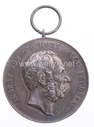 Sachsen tragbare Schießprämienmedaille II. Klasse S.M. König Albert, 1874-1877
