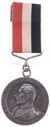 Deutsches Reich tragbare Jubiläumsmedaille des Verband Deutscher Brieftauben-Liebhaber Vereine 1913
