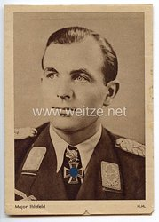 Heer - Propaganda-Postkarte von Ritterkreuzträger Major Ihlefeld