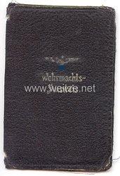 Schutzhülle für einen Wehrmachts-Ausweis