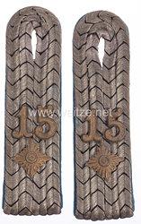 Preußen Paar Schulterstücke für einen Oberleutnant im Infanterie-Regiment Prinz Friedrich der Niederlande (2. Westfälisches) Nr. 15