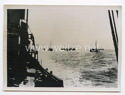 Kriegsmarine Pressefoto: Auf Minensuchfahrt 21.10.1940