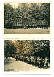3. Reich Fotos, Angehörige der Bahnpolizei mit Ärmelband