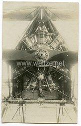 1. Weltkrieg Fliegerei: Foto eines Sternmotors