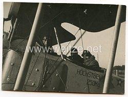 Weimarer Republik Fliegerei: Zivilflugzeugvor dem Start
