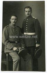 Portraitfoto Erster Weltkrieg: Artillerist der Fußartillerie-Schiesschule in Jüterbog