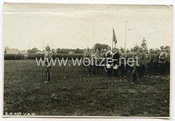 Deutsches Kaiserreich 1. Weltkrieg Fotos, Kaiser Wilhelm bei einer Parade