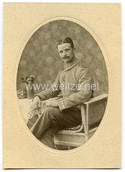 Deutsches Kaiserreich 1. Weltkrieg Foto, Unteroffizier mit Eisernen Kreuz 1914 2. Klasse