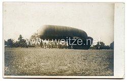 Deutsches Kaiserreich 1. Weltkrieg Foto,Beobachtungsballon