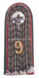 Preußen Einzel Schulterstück für einen Leutnant der Nachrichten-Ersatz-Abteilung Nr. 9