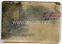 1. Weltkrieg Deutsches Heer Foto, Luftaufnahme von La Chapelle