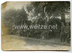 1. Weltkrieg Deutsches Heer Foto, Beerdigung von Soldaten