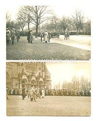 Weimarer Republik Fotos, Hindenburg bei einer Parade