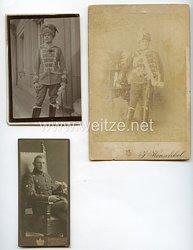 Deutsches Reich Fotokonvolut von Husaren