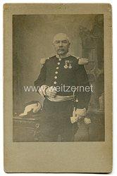 Belgien Portraitfoto eines Offiziers mit Orden um 1900