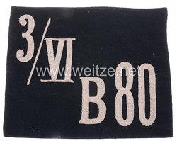 III. Reich Fahnenspiegel /VI B 80