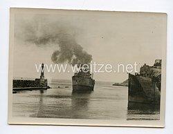 Kriegsmarine Pressefoto: Nachschub zur See 22.7.1944