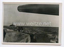 Kriegsmarine Pressefoto: Zerstörerfarht auf den Atlantik 15.7.1944