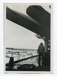 Kriegsmarine Pressefoto: Zerstörer auf See 18.7.1944