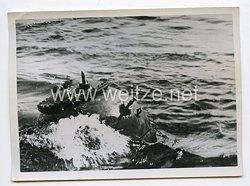 Kriegsmarine Pressefoto: Eine englische Mine 1.8.1940
