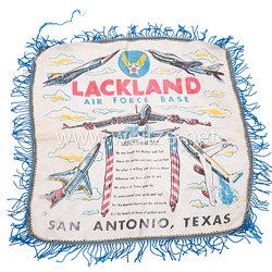 USA Kalter-Krieg Air Force Base Lackland San Antonio Texas Erinnerungs-Tuch