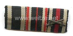 Bandspange eines Zivilisten und früheren Veteranen des 1. Weltkriegs