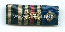 Bandspange eines Veteranen des 1. Weltkriegs und späteren Beamten