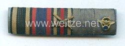 Bandspange für einen oldenburgischen Veteranen des 1. Weltkriegs und späteren Polizisten
