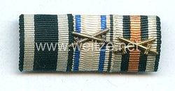 Bandspange für einen bayerischen Veteranen des 1. Weltkriegs