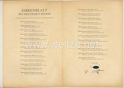 Ehrenblatt des deutschen Heeres - Ausgabe vom 15. Mai 1944