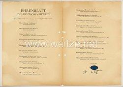 Ehrenblatt des deutschen Heeres - Ausgabe vom 5. April 1944