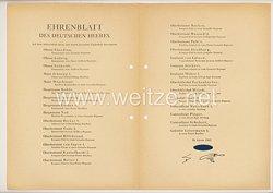Ehrenblatt des deutschen Heeres - Ausgabe vom 26. Januar 1943