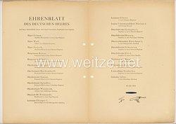Ehrenblatt des deutschen Heeres - Ausgabe vom 15. Juli 1942