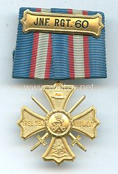 Preußen Regiments-Erinnerungskreuz des Infanterie-Regiment. 60