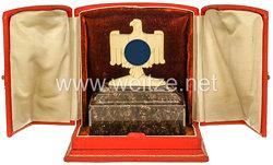 III. Reich - Deutscher Reichsbund für Leibesübungen ( DRL ) - imposanter Meisterschaftspreis bei den 1. Grossdeutschen Schwimm-Meisterschaften 1938