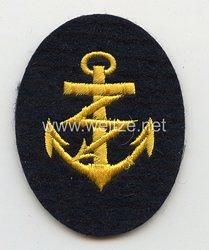 Kriegsmarine Ärmelabzeichen Laufbahn Funkmaat