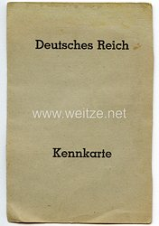 Kennkarte für eine Frau des Jahrgangs 1875 aus Pinneberg