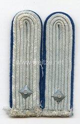Wehrmacht Heer Paar Schulterstücke Oberleutnant des TSD Truppensonderdienst (Verwaltung)