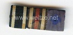 Bandspange eines Angehörigen der Wehrmacht und späteren Beamten