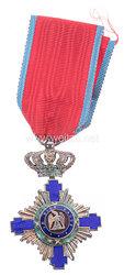 Königreich Rumänien : Orden vom Stern Rumäniens 1. Modell 1877-1932, Ritterkreuz